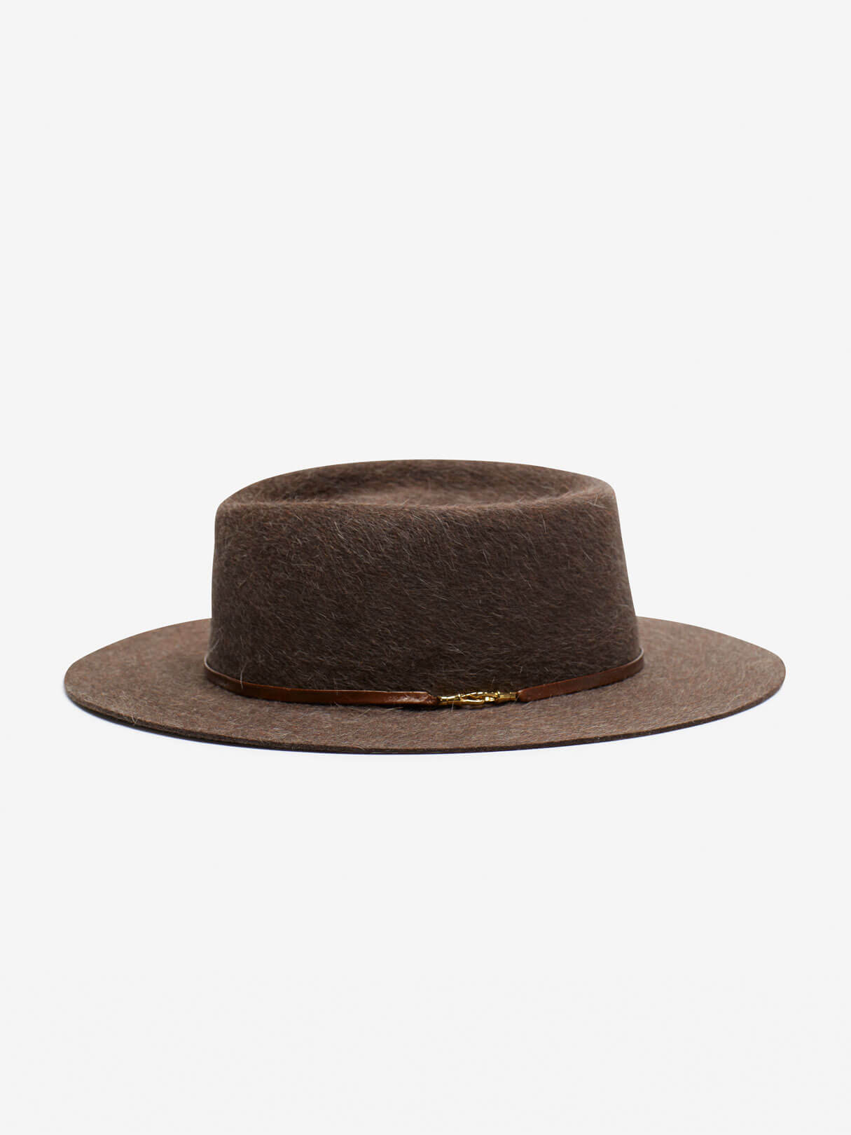 B.M. Franklin 'Hunter' Porkpie Hat Taupe
