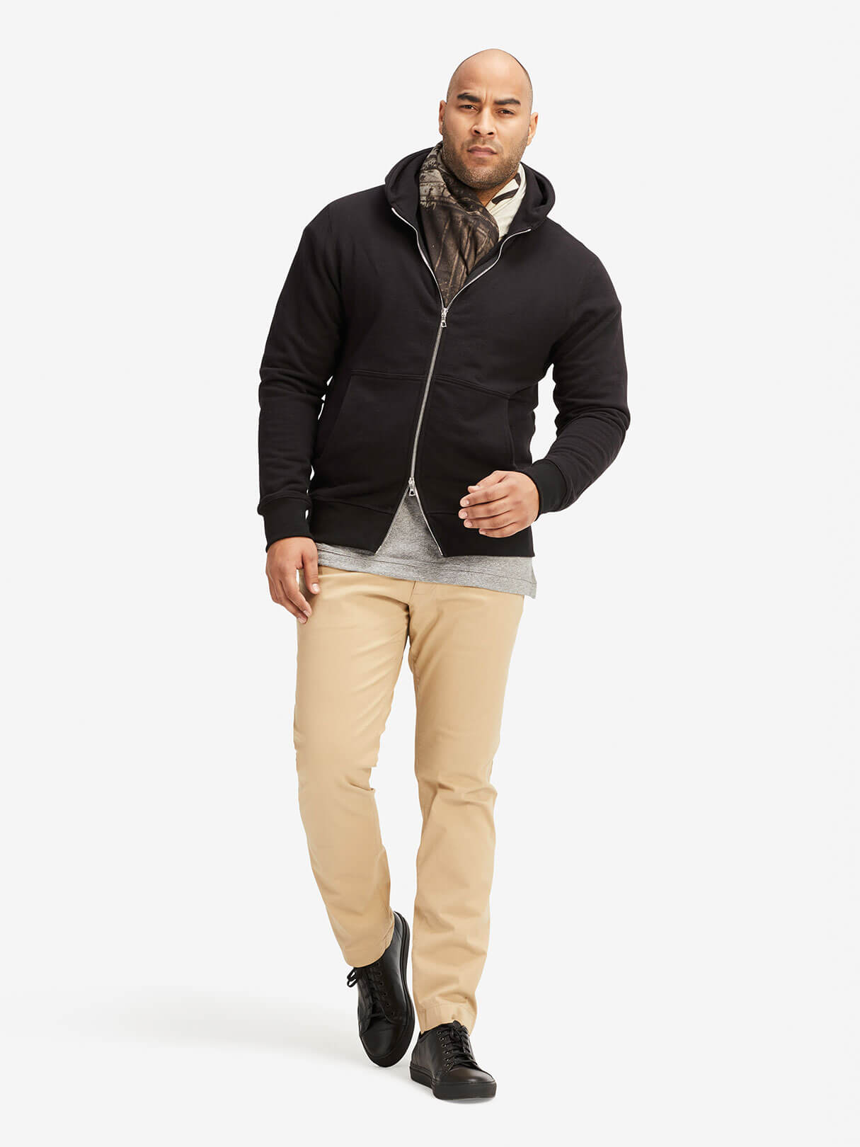 Dual Full-Zip Sweatshirt