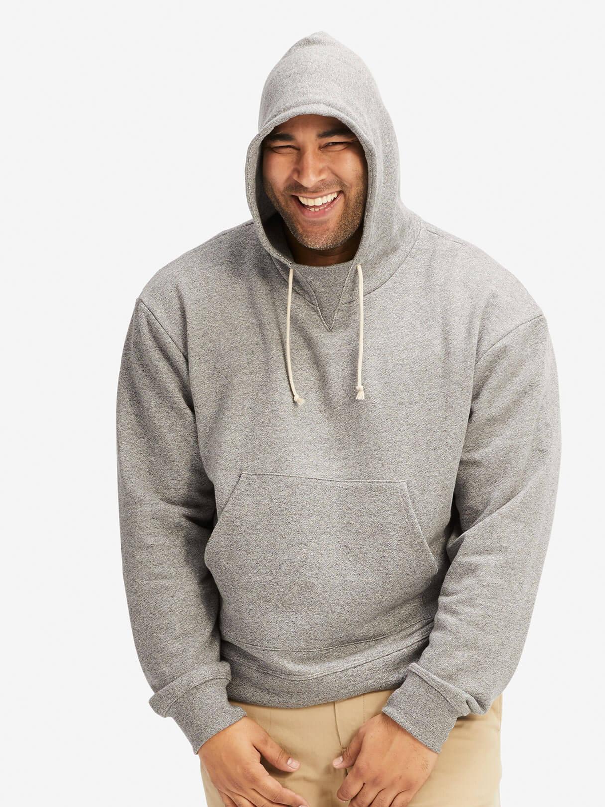 Kake Mock Pullover Sweatshirt